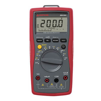 Amprobe AM-560 Advanced Multimeter for HVAC Applications