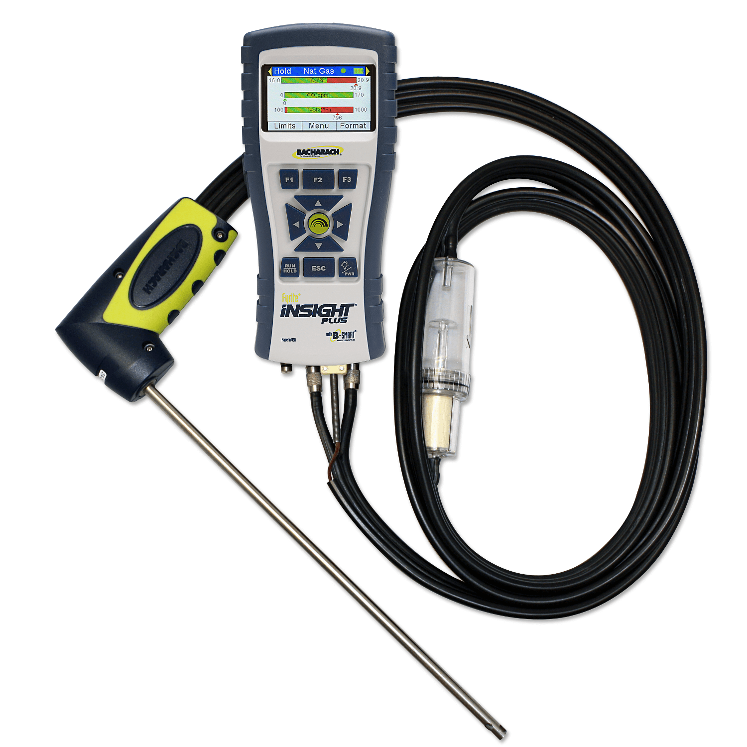 Bacharach 0024-1593 Replacement CO Sensor with NOx Filter for Fyrite Insight Plus Combustion Gas Analyzer