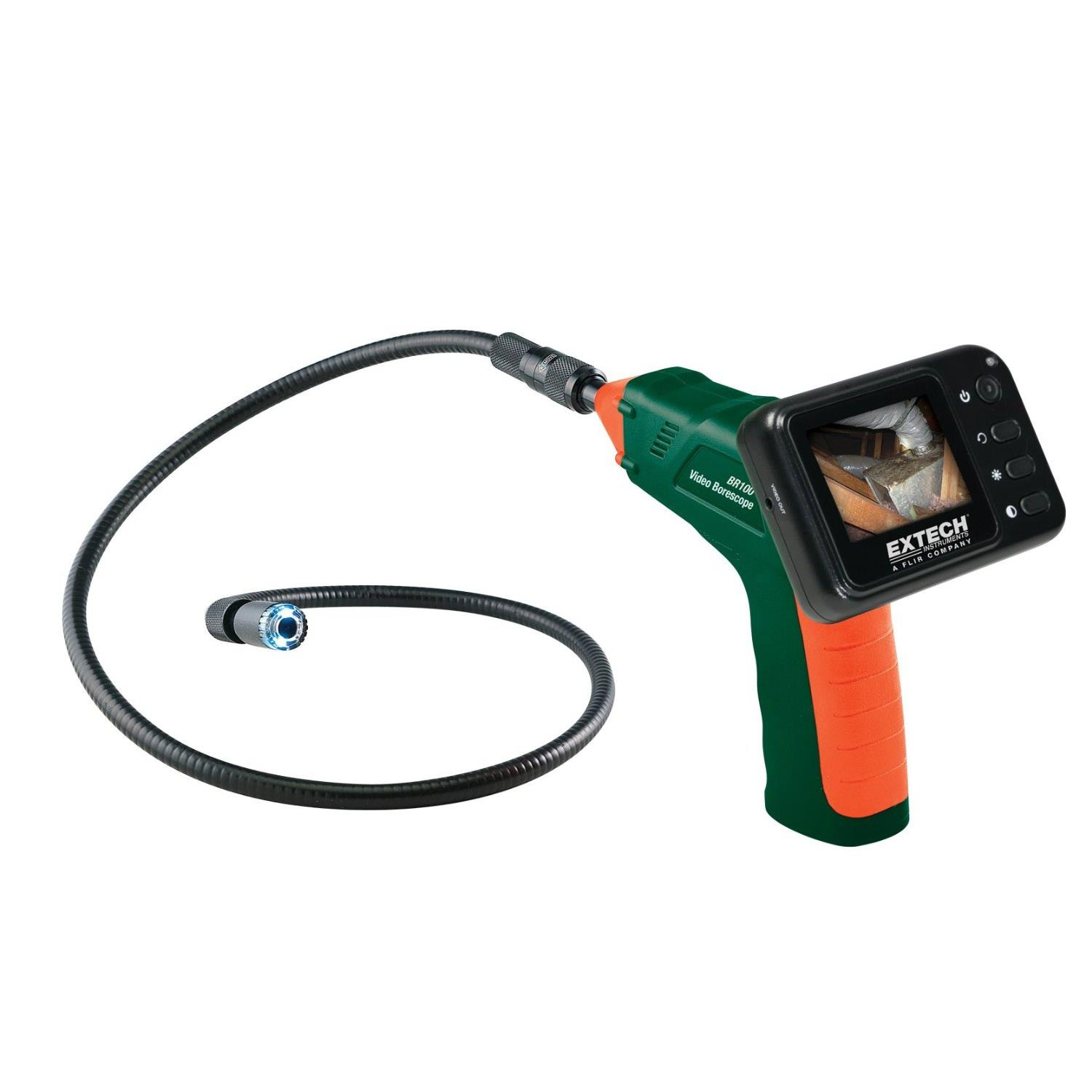Extech BR100 Video Borescope Inspection System