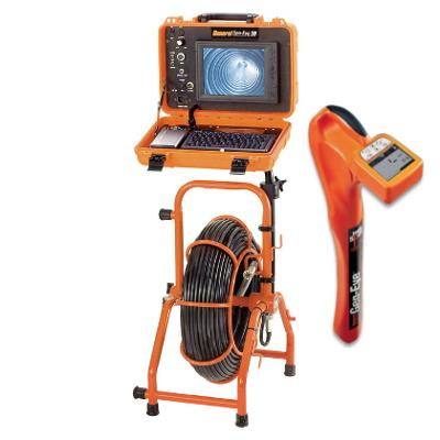 General Pipe Cleaners Gen-Eye SDN Mini C-M-SDN-D Pipe Inspection Camera with GL-100 Locator