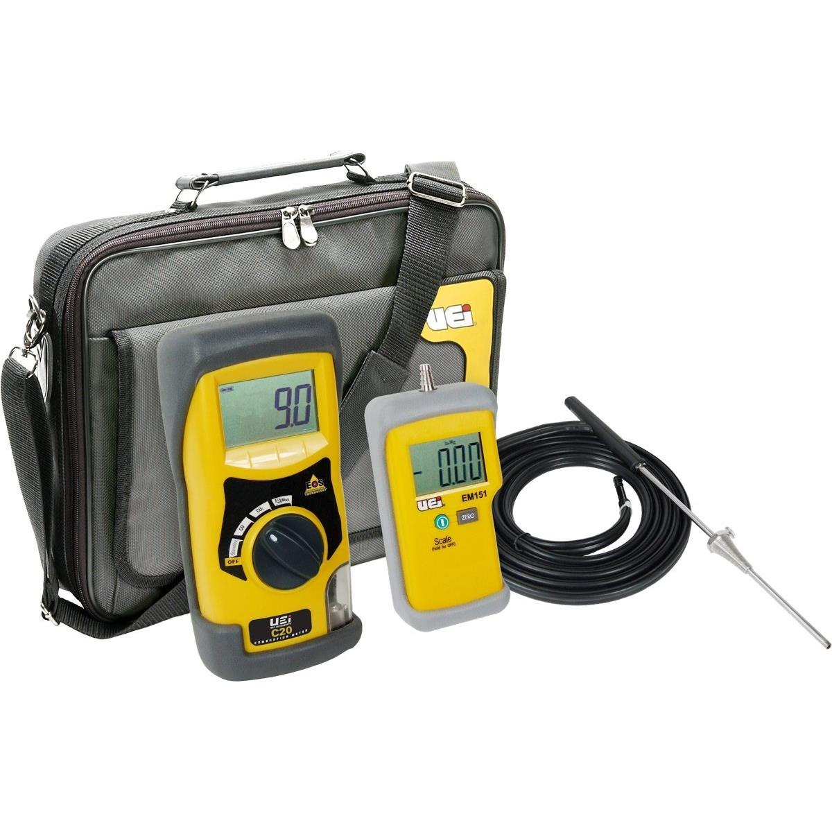 UEi C20KIT Digital Carbon Monoxide and Carbon Dioxide Analyzer Kit