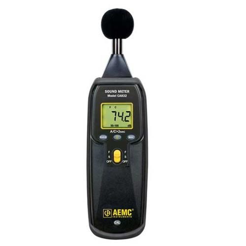 AEMC CA832 Digital Handheld Sound Level Meter
