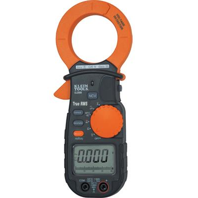 Klein Tools CL2500 TRMS AC DC Clamp Meter 1000A