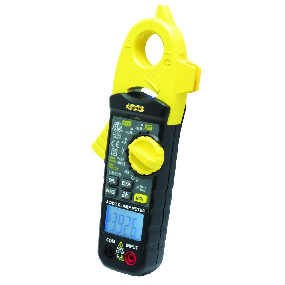 General Tools CM380 80A ACDC Clamp Meter