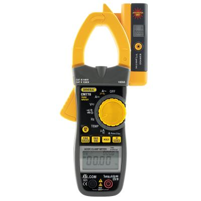 General Tools CM770 Amp Clamp 1000V Dual Display Clamp Meter with IRT