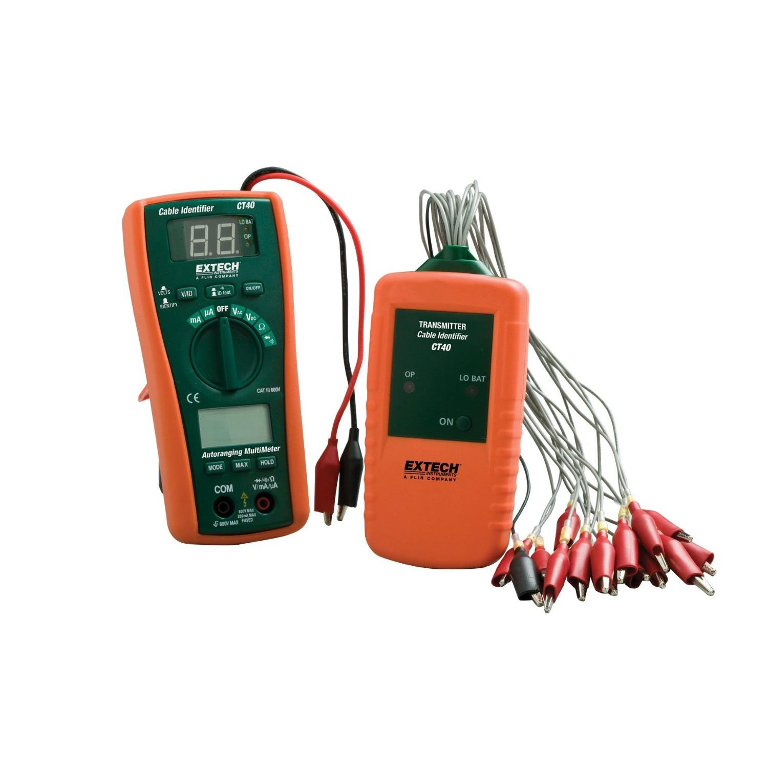 Circuit Tracer Cable Testers On Sale Best Breaker Finder Extech Ct40 Testing And Identifier Kit