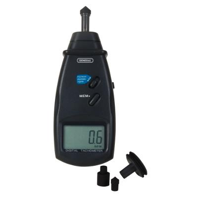 General Tools CT6235B Handheld Contact Tachometer