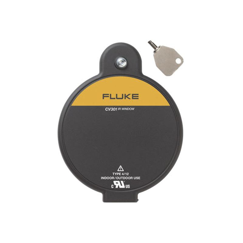 Fluke CV301 ClirVu Infrared Window 75mm for Thermal Inspections with Key Access