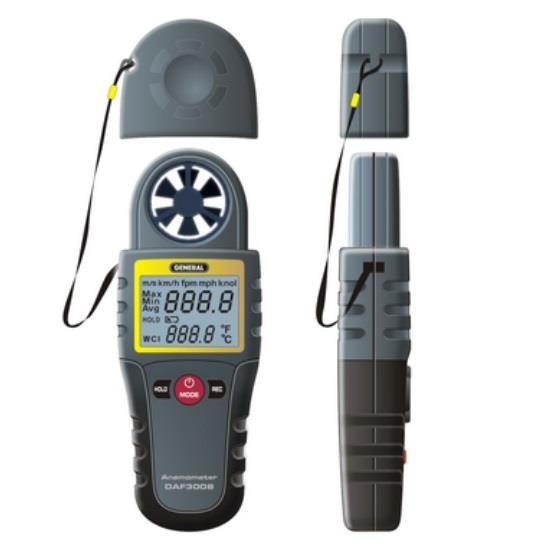General Tools DAF3012M CFM Airflow and Heat Index Tester