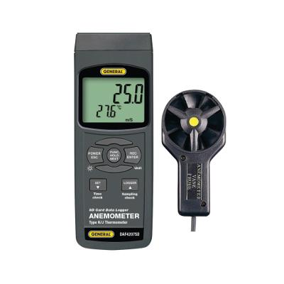 General Tools DAF4207SD Airflow Meter with Datalogging
