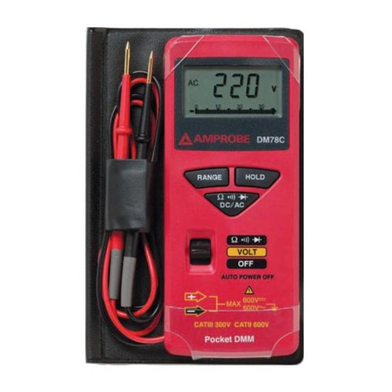 Amprobe DM78C Digital Pocket Multimeter