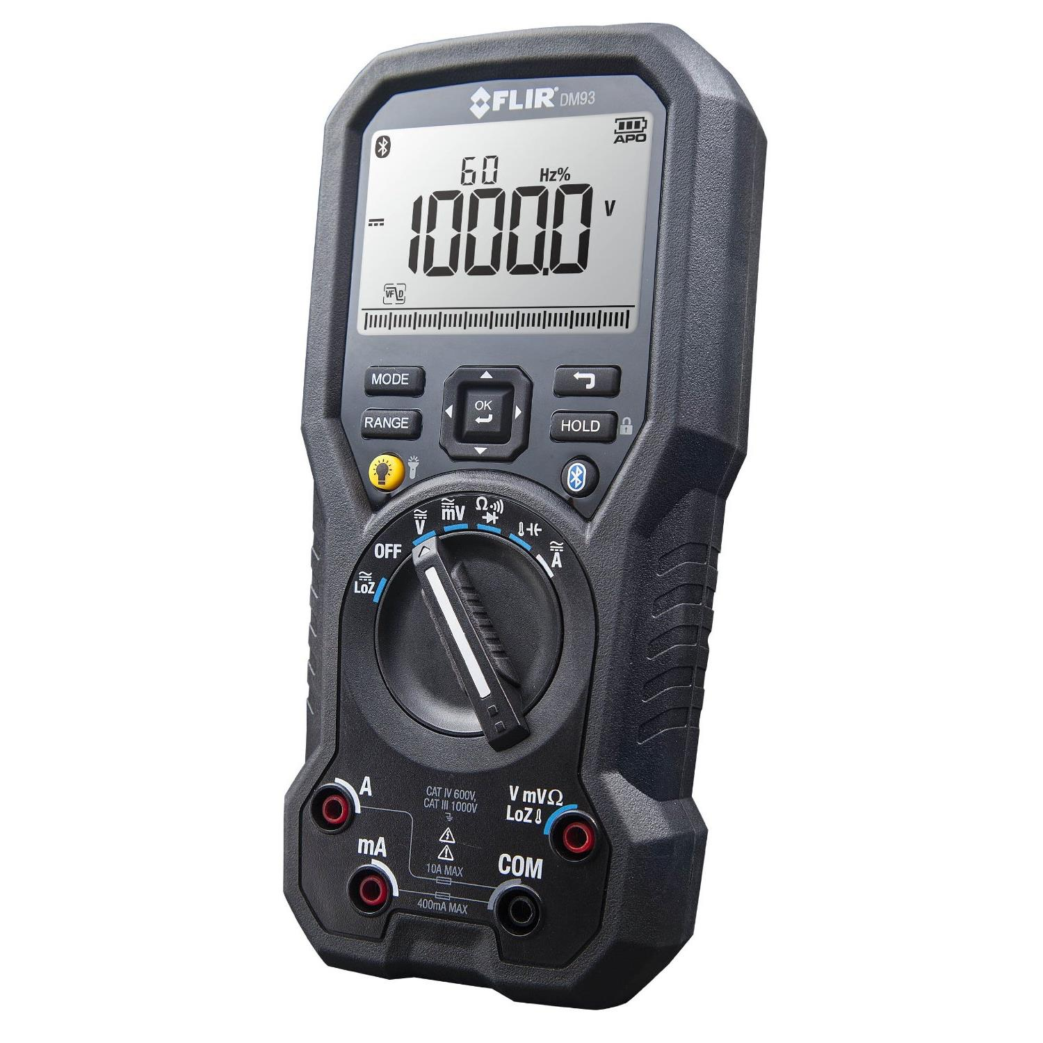 Flir DM93 TRMS Digital Multimeter for Industrial Applications