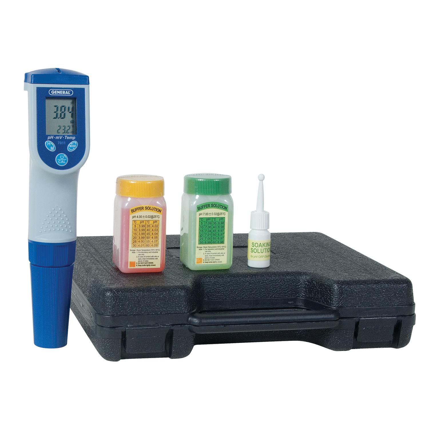 General Tools DPH7011 Digital pH Meter with Serial RS-232 Output