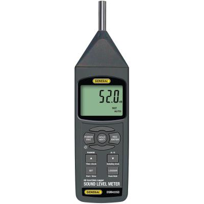General Tools DSM403SD Digital Sound Level Meter with SD Card