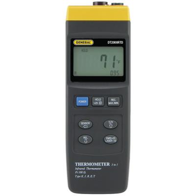 General Tools DT2000RTD 3-in-1 Thermometer