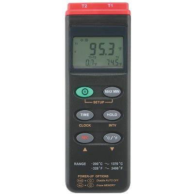 General Tools DT306DL Dual Input Thermometer with Datalogging