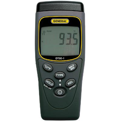 General Tools DT80-1 Thermocouple Thermometer