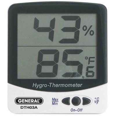 General Tools DTH03A Humidity Temperature Meter