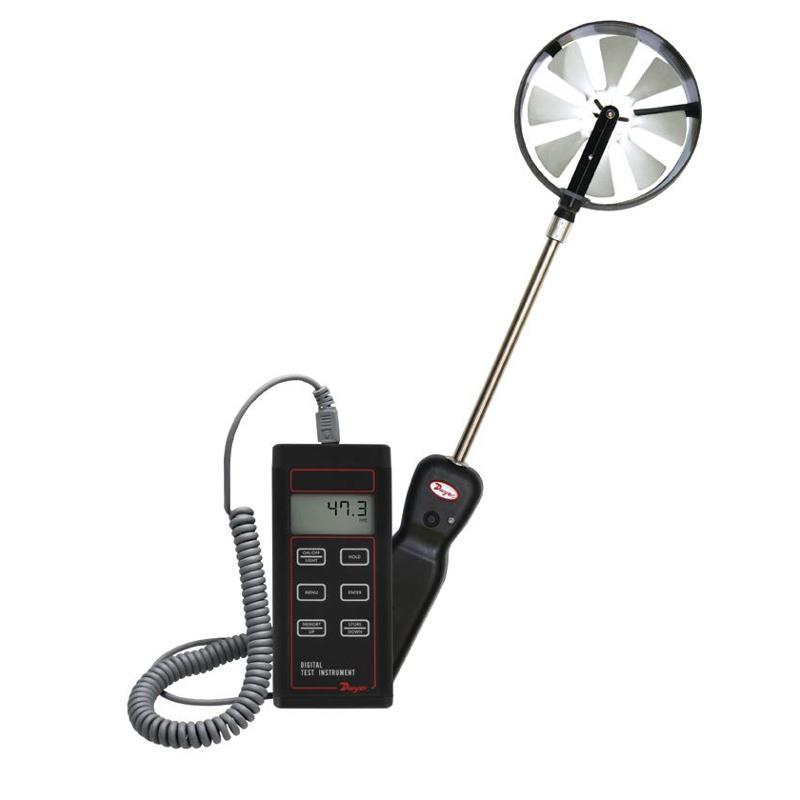 Dwyer 473B-1 Vane Thermo-Anemometer RH Air Velocity and Temperature