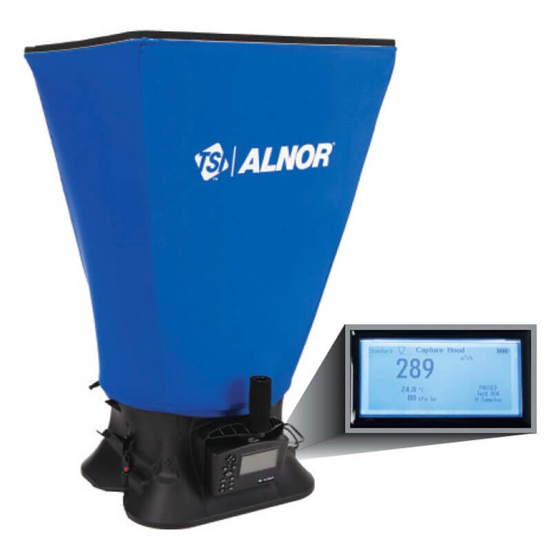 TSI Alnor EBT731 Balometer Air Volume Capture Hood