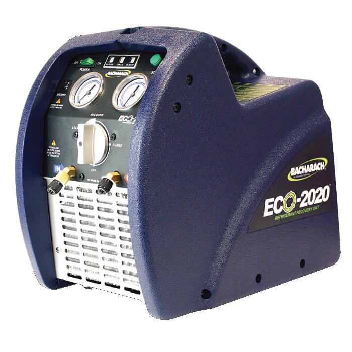 Bacharach ECO-2020-8001 Refrigerant Recovery Machine