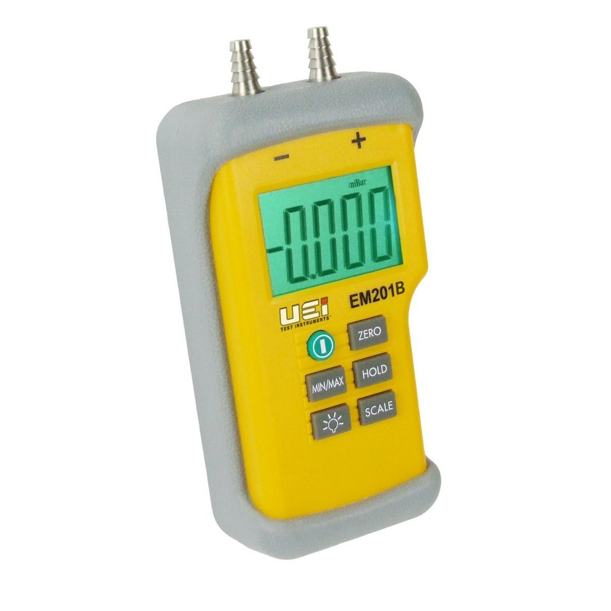 UEi EM201B Differential Pressure Manometer