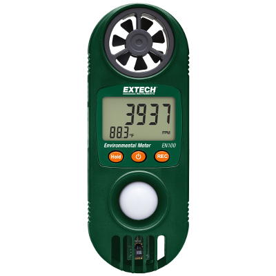 Extech EN100 Compact Environmental Meter with 11 Tests