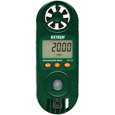 Extech EN150 Handheld Environmental Meter With 11 Functions