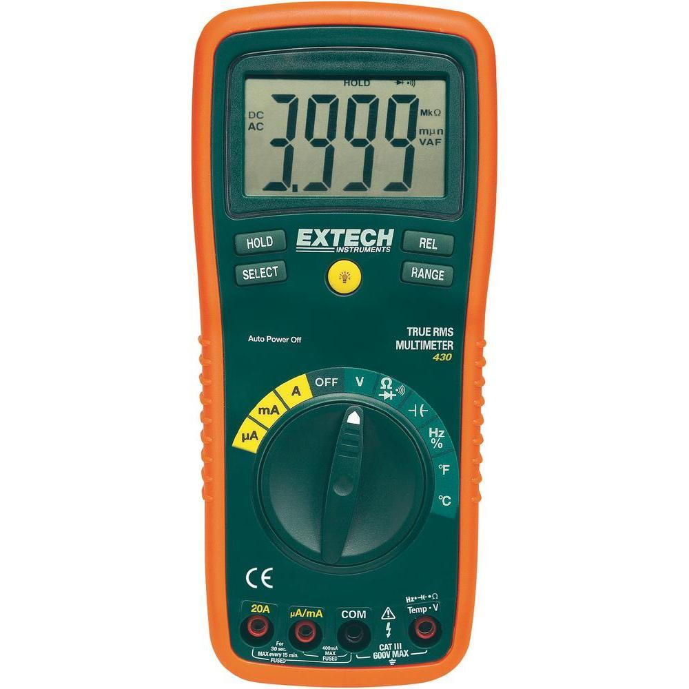 Extech EX430 True RMS Multimeter