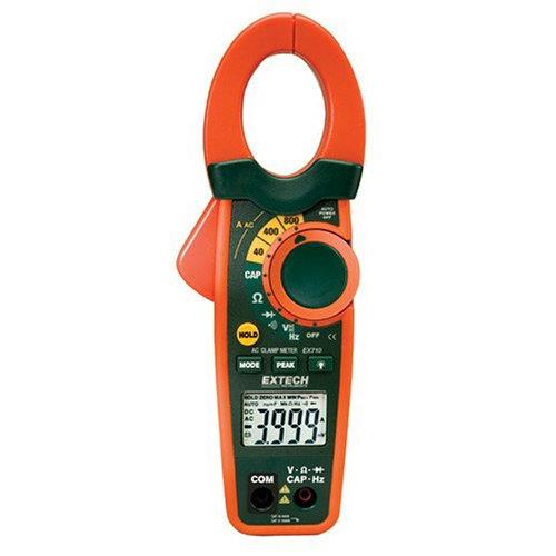 Extech EX710 800A Digital Clamp Meter with IR Thermometer