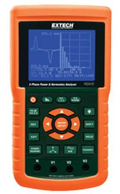 Extech PQ3470-12 Graphical 3-Phase Power Analyzer and Datalogger