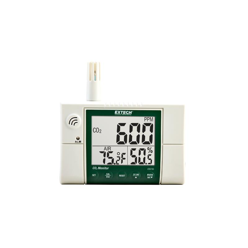 Extech CO230 Indoor Air Quality CO2 Temperature RH Meter