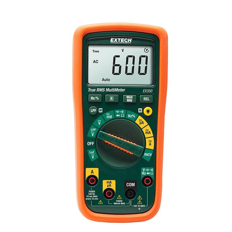 Extech EX350 TRMS Multimeter and Non-Contact Volt Probe