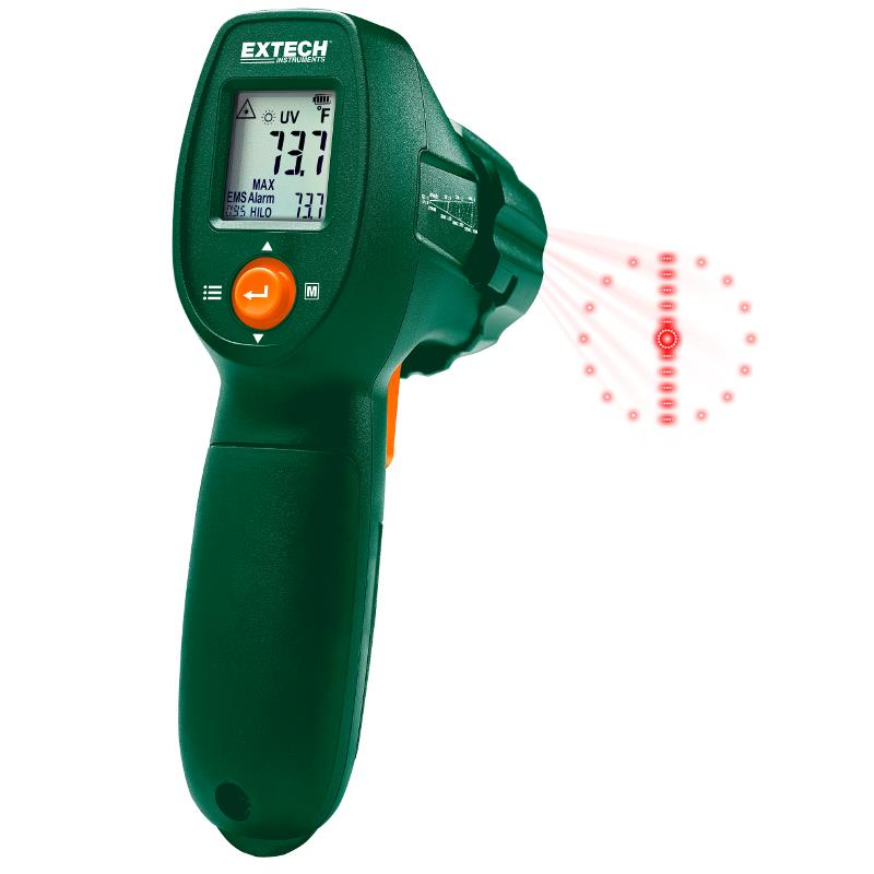 Extech IR300UV Infrared Thermometer UV Leak Detector Meter