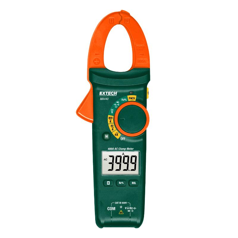 Extech MA440 400AC Clamp Meter with NCV Detector