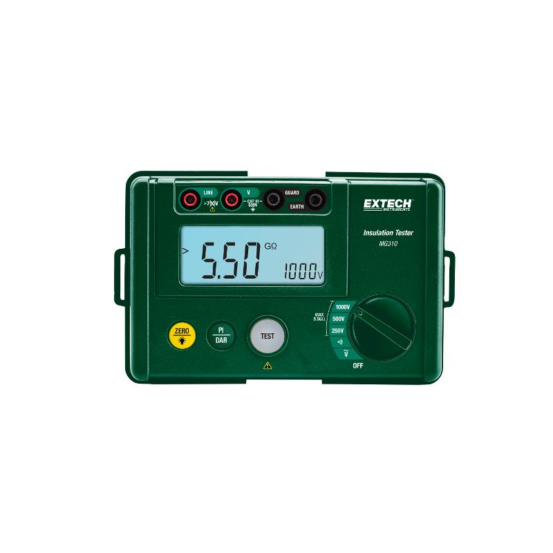 Extech MG310 Compact Digital Insulation Megohmmeter