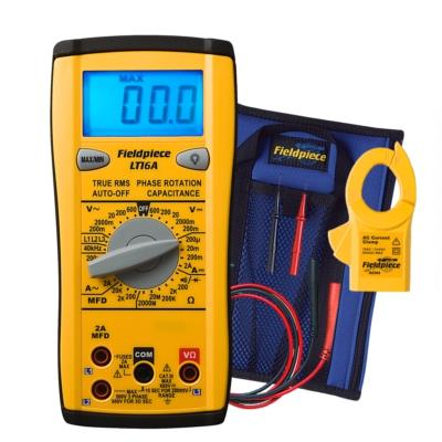 Fieldpiece LT16A Digital Multimeter and Phase Rotation Meter