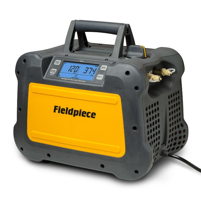 Fieldpiece MR45 Refrigerant Recovery Machine with Smart Speed 1 HP Motor