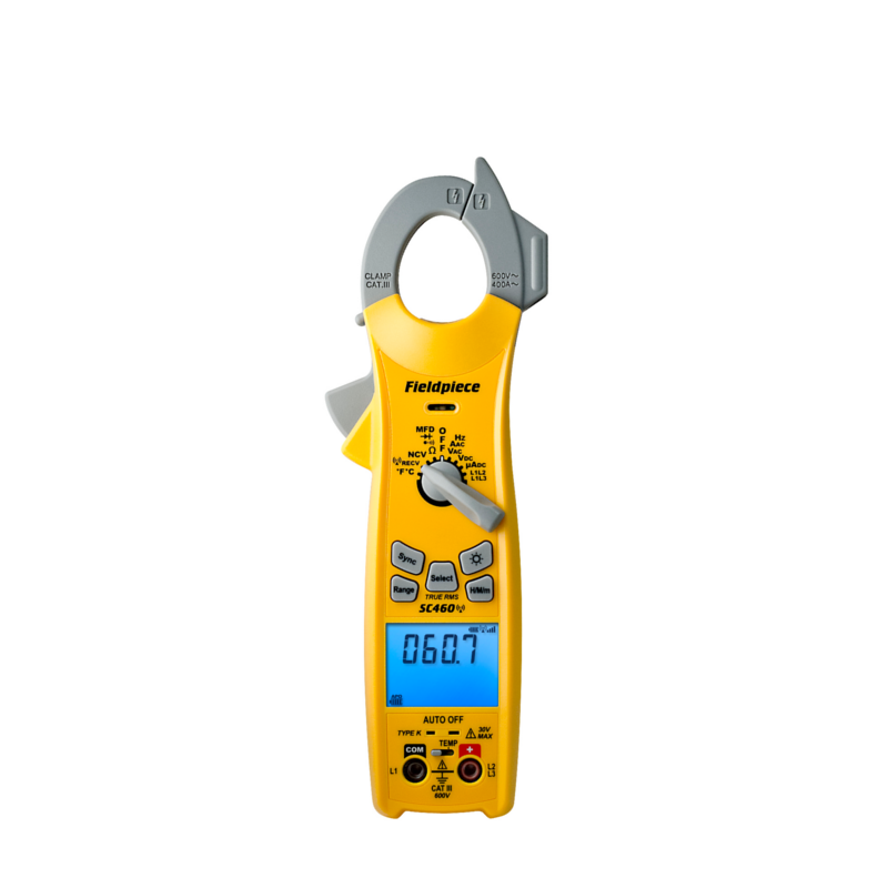 Fieldpiece SC460 True RMS HVAC Wireless Clamp Meter [Free 2nd Day Shipping]