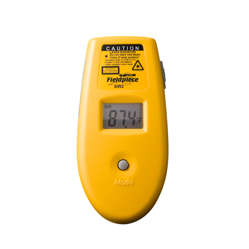 Fieldpiece SIR2 Pocket Size Laser Thermometer