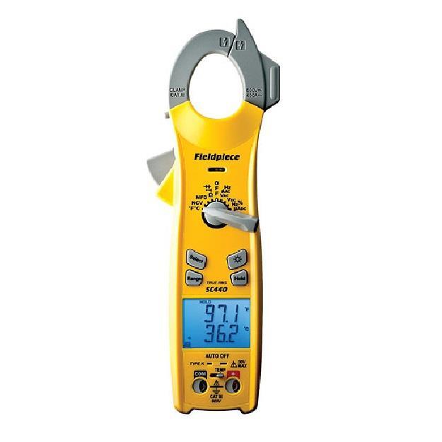 Fie Digital Clamp Meter : Fieldpiece sc digital clamp meter essential series trms