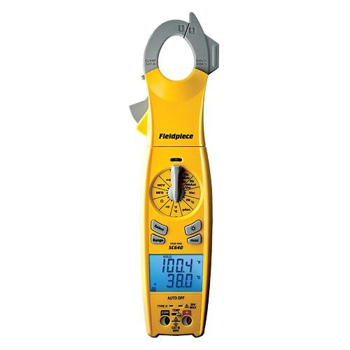 Fieldpiece SC640 Loaded Series TRMS Digital Clamp Meter