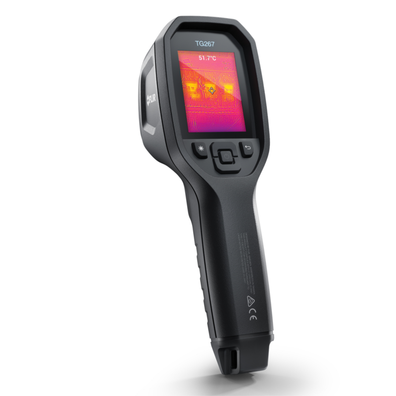 Flir TG267 Thermal Camera with MSX, 9Hz and 160x120 Resolution