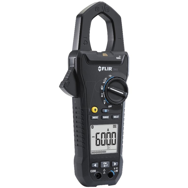 Flir CM83 600A True RMS Industrial Handheld Clamp Meter
