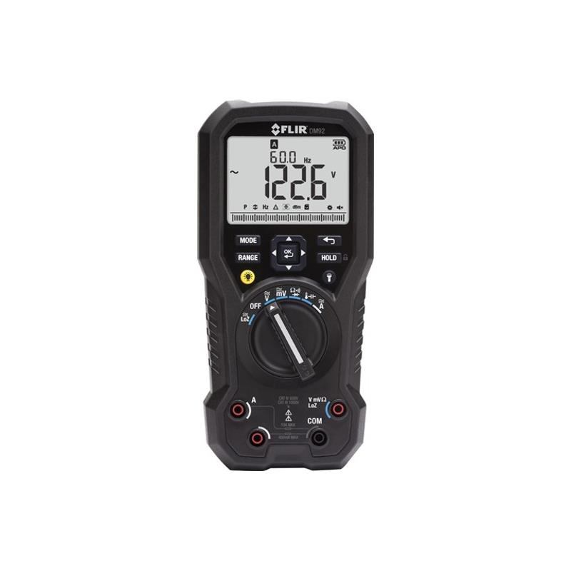 Flir DM92 Industrial Digital Multimeter with VFD Filter