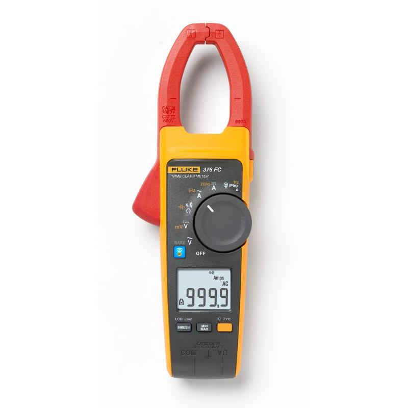 Fluke 376 FC True RMS 1000A AC/DC Clamp Meter with 2500A iFlex