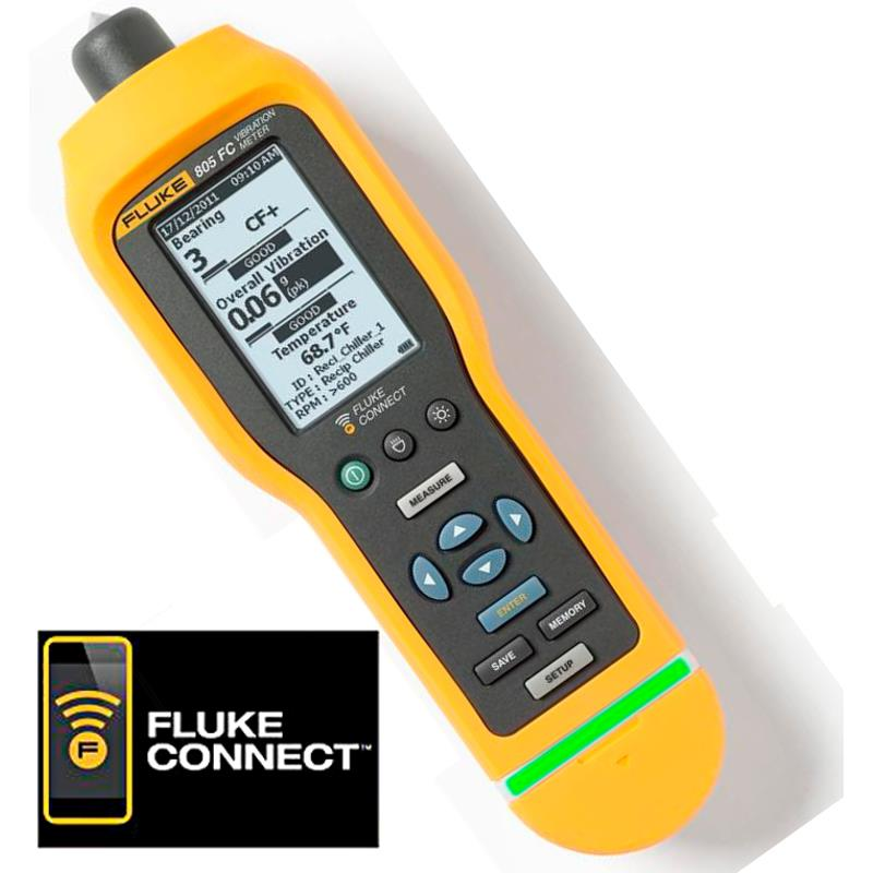 Fluke 805 FC Portable Vibration Meter
