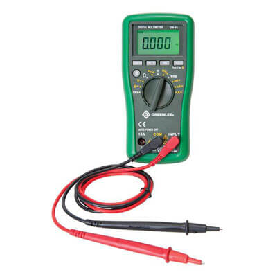 Greenlee DM-65 Handheld Digital Multimeter