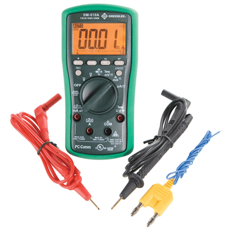 Greenlee DM 510A Multimeter Digital