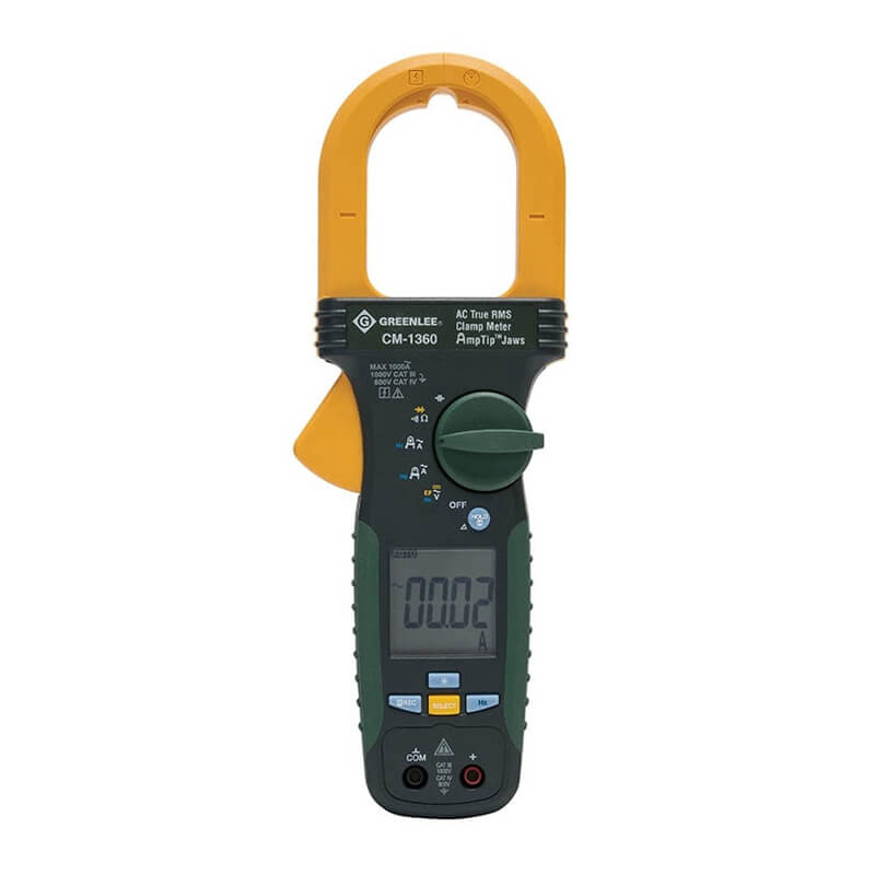 Greenlee CM-1360 Portable AC Clamp Meter